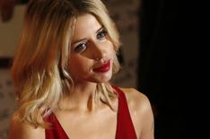 "Peaches Geldof, daughter of Bob Geldof, arrives for the European premiere of ""The Twilight Saga: Breaking Dawn Part 2"" in London in this November 14, 2012 file photo. REUTERS/Luke MacGregor/Files"