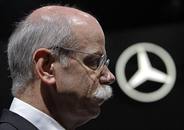 Daimler AG Chief Executive Dieter Zetsche attends the Beijing Auto Show April 23, 2010. REUTERS/Jason Lee