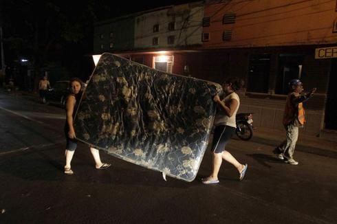 Fresh quake hits Nicaragua, damaging some buildings