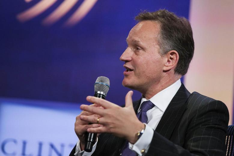 Antony Jenkins, group chief executive of Barclays PLC, speaks during the Clinton Global Initiative (CGI) in New York September 26, 2013. REUTERS/Lucas Jackson