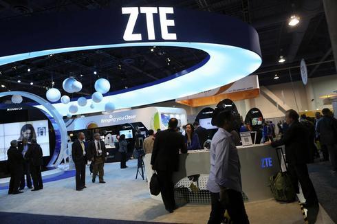 China's ZTE first-quarter profit triples; meets estimate