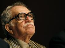 O escritor Gabriel García Márquez participa de uma cerimônia em Monterrey, no México, em outubro de 2007. 02/10/2007 REUTERS/Tomas Bravo