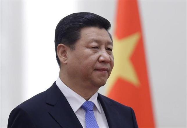 4月17日、中国の習近平国家主席は、汚職の疑いのある高官を追放し、息のかかった人材や改革志向の官僚を共産党の要職に付けようとしている。北京で昨年11月撮影(2014年 ロイター/Jason Lee)