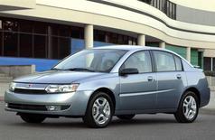 A 2004 Saturn ION sedan is seen in an undated publicity photo. REUTERS/Handout via General Motors