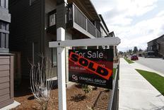 Una vivienda vendida en el área suroeste de Portland, EEUU, mar 20 2014. Las ventas de casas usadas en Estados Unidos cayeron en marzo a su menor nivel en más de un año y medio, pero hubo señales de que una reciente tendencia a la baja que ha afectado al mercado de la vivienda podría estar terminando. REUTERS/Steve Dipaola