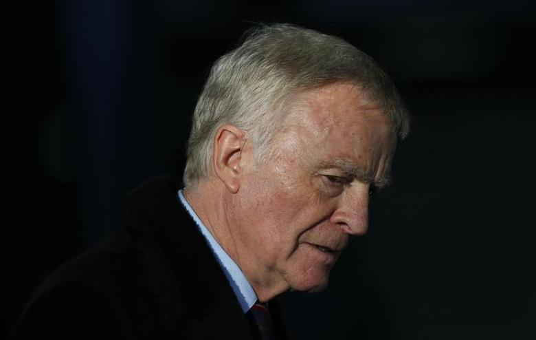 Former motor-racing boss Max Mosley leaves after attending the release of Lord Justice Brian Leveson's report on media practices in central London November 29, 2012 file photo. REUTERS/Andrew Winning