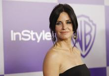 Actress Courteney Cox poses at the Warner Bros./InStyle after party after the 67th annual Golden Globe Awards in Beverly Hills, California in this January 17, 2010 file photo. REUTERS/Mario Anzuoni/Files