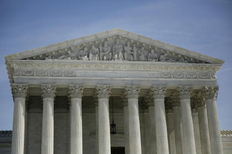 The exterior of the U.S. Supreme Court is seen in Washington March 5, 2014. REUTERS/Gary Cameron