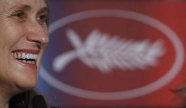 Diretora Jane Campion durante coletiva de imprensa no 62º Festival de Cinema de Cannes. A cineasta neozelandesa Jane Campion comandará um júri de cinco mulheres e quatro homens no Festival de Cinema de Cannes neste ano, a primeira vez desde 2009 que o grupo tem maioria feminina. 15/05/2009. REUTERS/Vincent Kessler