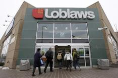 A Loblaws store is pictured in Ottawa February 24, 2011. REUTERS/Chris Wattie