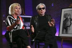 Blondie's Deborah Harry and guitarist Chris Stein pose for a portrait in New York May 12, 2014.   REUTERS/Shannon Stapleton