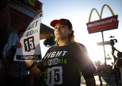 Global fast food strike