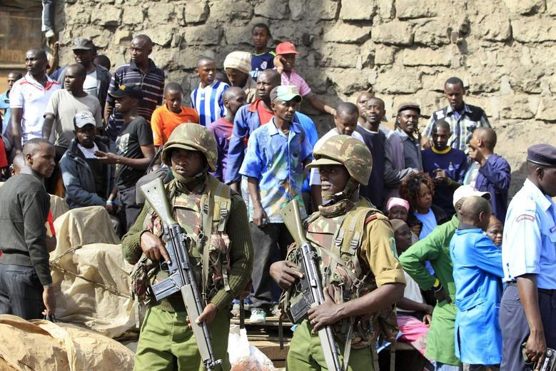 Back-to-back blasts kill at least 10 in Kenyan capital