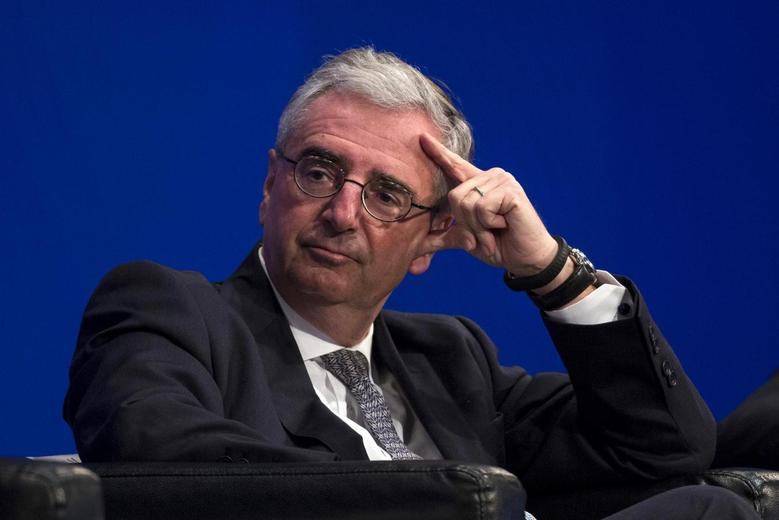 Deutsche Bank AG Chairman of the Supervisory Board Paul Achleitner attends the Asian Financial Forum (AFF) in Hong Kong January 13, 2014. REUTERS/Tyrone Siu
