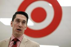 Target Canada President Tony Fisher speaks to the media as the company shows off one of its new Canadian stores in Guelph, Ontario in this March 4, 2013 file photo. REUTERS/Geoff Robins/Files