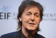 """Musician Paul McCartney attends The Shakespeare Center of Los Angeles 23rd Annual Simply Shakespeare benefit reading of """"The Two Gentlemen of Verona"""" in Santa Monica, California September 25, 2013. REUTERS/Phil McCarten"""