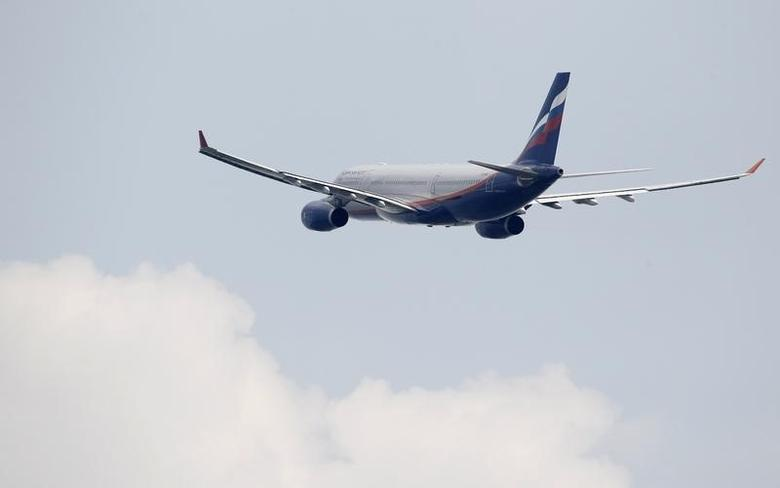 An Aeroflot Airbus A330 plane heading to the Cuban capital Havana takes off at Moscow's Sheremetyevo airport June 27, 2013. REUTERS/Sergei Karpukhin