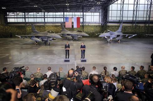 U.S. reviews military presence in Europe after Russian moves in Ukraine
