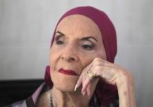 A diretora do Ballet Nacional de Cuba, Alicia Alonso, concede entrevista coletiva em Havana, Cuba, no ano passado. 10/05/2013 REUTERS/Enrique De La Osa