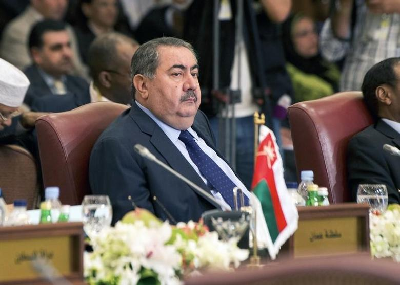 Iraq's Foreign Minister Hoshiyar Zebari attends the preparatory meeting of Arab Foreign Ministers in Kuwait City March 23, 2014, ahead of 25th Arab League Summit which will take place in Kuwait on March 25 for 2 days.  REUTERS/Stephanie McGehee