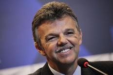 Ex-goleiro da seleção Gilmar Rinaldi, novo coordenador-geral de seleções da CBF. 17/07/2014 REUTERS/Ricardo Moraes