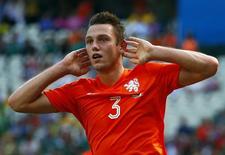 De Vrij, da Holanda, em partida da Copa do Mundo. 29/06/2014.  REUTERS/Eddie Keogh