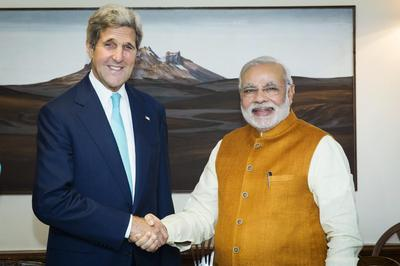 John Kerry in India