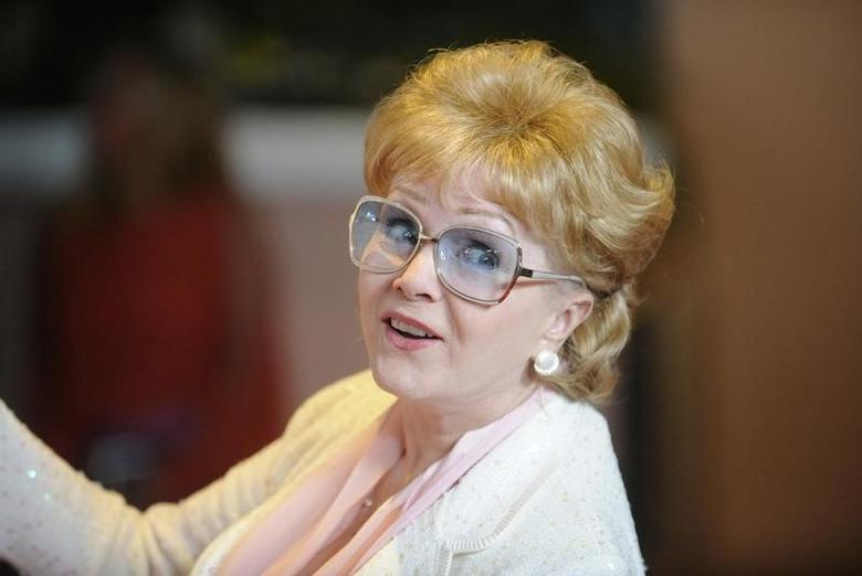 Actress Debbie Reynolds attends an event celebrating the 100th anniversary of The Beverly Hills Hotel in Beverly Hills, California June 16, 2012. REUTERS/Phil McCarten