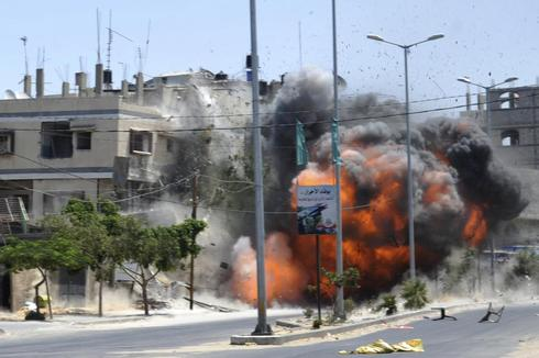 Gaza fighting continues