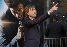 Jagger durante lançamento do filme 'Get on Up', em 21 de julho de 2014. REUTERS/Eric Thayer
