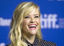 """Actress Reese Witherspoon attends a news conference to promote the film """"The Good Lie"""" at the Toronto International Film Festival (TIFF) in Toronto, September 8, 2014.    REUTERS/Fred Thornhill"""
