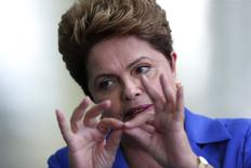Presidente Dilma Rousseff, candidata à reeleição. REUTERS/Ueslei Marcelino