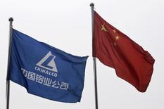 """Le directeur général de Chinalco, l'une des plus grandes entreprises publiques chinoises, est visé par une enquête pour des faits de corruption présumée. Sun Zhaoxue, directeur général d'Aluminum Corp of China (Chinalco), est soupconné de """"graves violations"""" de la loi. /Photo d'archives/REUTERS/Christina Hu"""