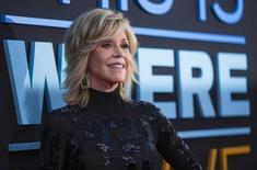 """Cast member Jane Fonda poses at the premiere of """"This Is Where I Leave You"""" in Hollywood, California September 15, 2014.  REUTERS/Mario Anzuoni"""