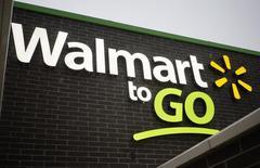 Una tienda de Walmart To Go vista en Bentonville. Imagen de archivo, 25 junio, 2014. Wal-Mart Stores, la mayor cadena minorista del mundo, dijo el miércoles que abrirá menos tiendas en Estados Unidos durante el próximo año fiscal y que reforzaría las inversiones en su negocio online.REUTERS/Rick Wilking