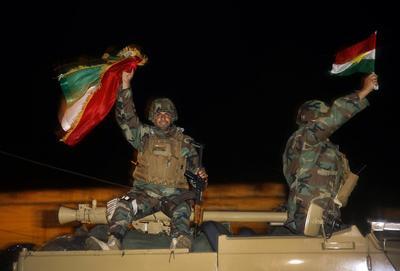 Peshmerga reinforce Kobani