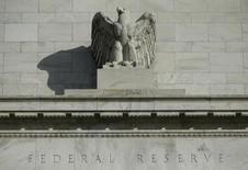 Vista parcial da sede do Federal Reserve, em Washington. 28/10/2014. REUTERS/Gary Cameron