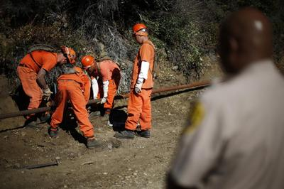 California's inmate firefighters