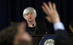 Chair do Fed, Janet Yellen. REUTERS/Kevin Lamarque  (UNITED STATES - Tags: POLITICS BUSINESS)