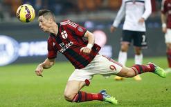 Atacante do Milan Fernando Torres em partida contra o Palermo no estádio San Siro, em Milão. 02/11/2014 REUTERS/Stefano Rellandini