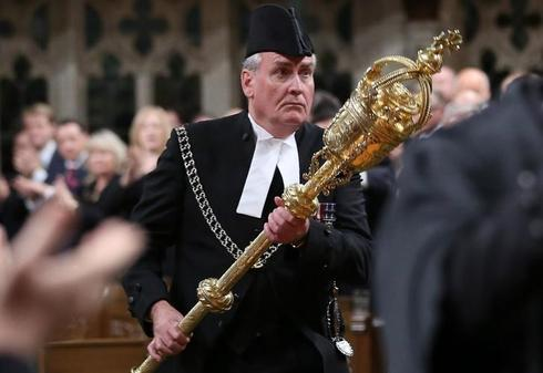 Hero of gunfight in Canada's parliament to become envoy to Ireland