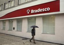 Agência do Banco Bradesco, no centro do Rio de Janeiro. 14/8/2014 REUTERS/Pilar Olivares