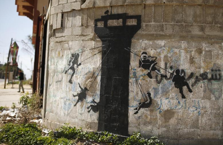 Best of Banksy | Reuters com
