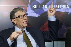 Bill Gates durante evento em Bruxelas. 22/01/2015.        REUTERS/Francois Lenoir