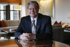 Discovery Channel founder John Hendricks sits for a portrait in New York March 17, 2015.  REUTERS/Shannon Stapleton
