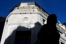 Sede do Citibank no distrito financeiro de Buenos Aires, na Argentina, nesta segunda-feira. 06/04/2015 REUTERS/Marcos Brindicci