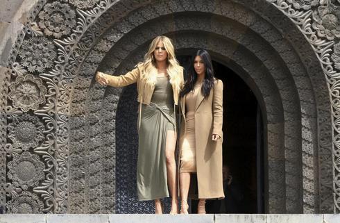 Kim Kardashian in Armenia