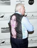 Pai da falecida cantora Amy Winehouse, Mitch Winehouse, durante evento em Nova York.  21/03/2013.  REUTERS/Carlo Allegri