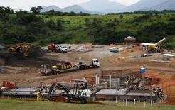 Local das obras para a arena de mountain bike dos Jogos Olímpicos de 2016, no Complexo de Deodoro. 12/03/2015 REUTERS/Sergio Moraes