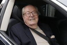 Fundador da Frente Nacional, Jean-Marie Le Pen, em Nanterre, perto de Paris, na França. 04/05/2015 REUTERS/Philippe Wojazer